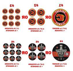 Calgary Flames Decal magnet Car Fridge Winning Jets Sport ma