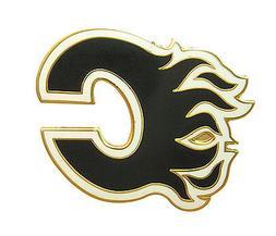 Calgary Flames NHL Logo Pin