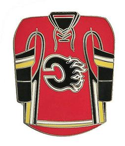 Calgary Flames NHL Team Jersey Pin