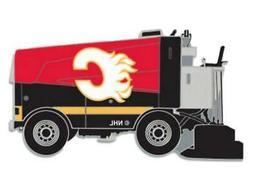 Calgary Flames WinCraft Red & Black Ice Hockey Zamboni Metal