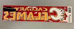 Calgary Flames Vibrant Official NHL Team Logo Car Bumper Sti