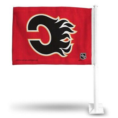 Official NHL Calgary Flames Car Flag 314132