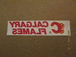 NHL Calgary Flames Vintage Circa 1980's Rah!Rah! Team Logo B